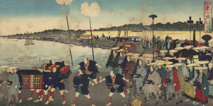 Processions through Japan