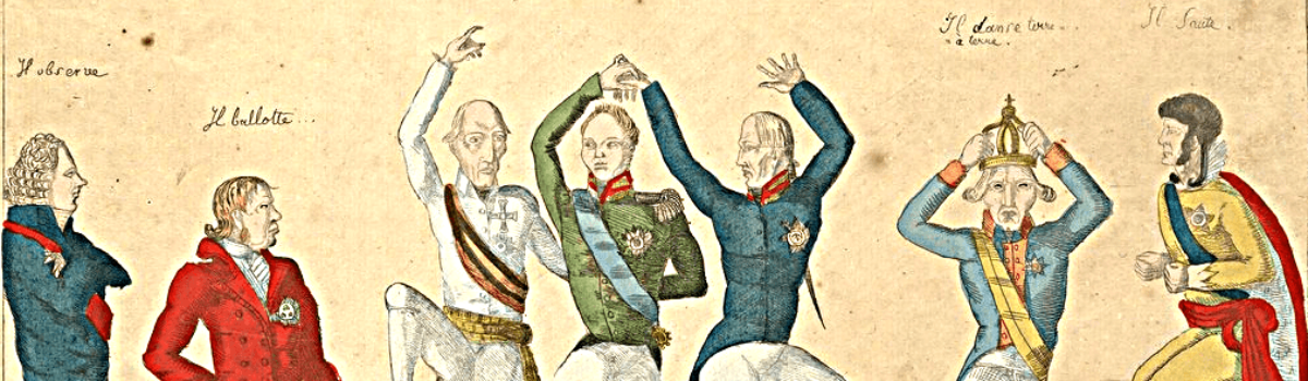 """Countess Bernstorff, """"Those who danced at the congress"""""""